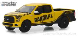 Ford  - F-150 2017 yellow/black - 1:64 - GreenLight - 41080F - gl41080F | Tom's Modelauto's