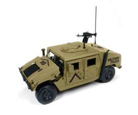 Humvee  - sand - 1:18 - Auto World - ML003B - AWML003B | Toms Modelautos