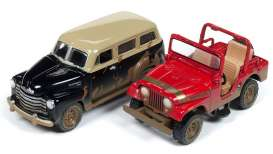 Assortment/ Mix  - various - 1:64 - Johnny Lightning - PK006 - JLPK006A | Tom's Modelauto's