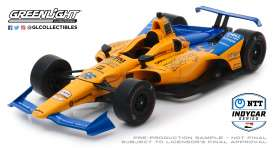 McLaren  - 2019 orange/blue - 1:18 - GreenLight - 11061 - gl11061 | Tom's Modelauto's