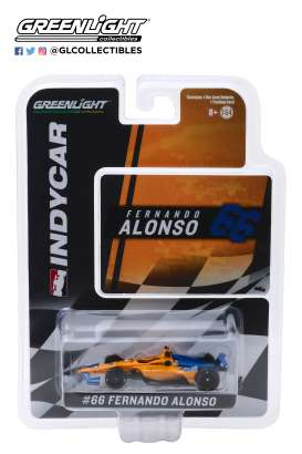 McLaren  - 2019 orange/blue - 1:64 - GreenLight - 10845 - gl10845 | Tom's Modelauto's