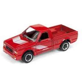 GMC  - Syclone 1991 red - 1:64 - Johnny Lightning - SP027 - JLSP027B | Tom's Modelauto's