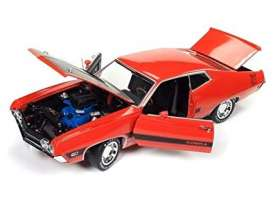 Ford  - Torino *Twister* 1970 red-orange - 1:18 - Auto World - amm1112 - AMM1112 | Tom's Modelauto's