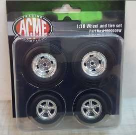 Rims & tires Wheels & tires - 1:18 - Acme Diecast - 1800909W - acme1800909W | Tom's Modelauto's