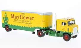 Kenworth  - Series 500 yellow/green - 1:43 - Iconic Replicas - 43-0031 - IR43-0031 | Tom's Modelauto's