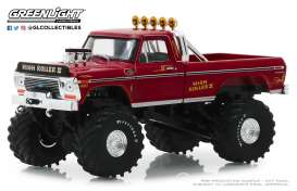 Ford  - F-250 1979 red - 1:43 - GreenLight - 86162 - gl86162 | Tom's Modelauto's