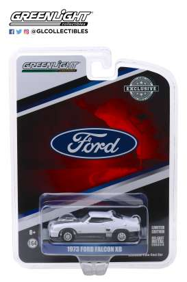 Ford  - Falcon XB Custom 1973 polar white - 1:64 - GreenLight - 30042 - gl30042 | Tom's Modelauto's