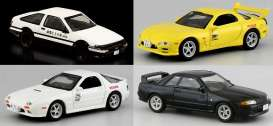 Assortment/ Mix  - various - 1:64 - Kyosho - 7057A6 - kyo7057A6 | Tom's Modelauto's