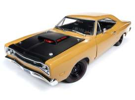 Dodge  - Super Bee  1969 butterscotch - 1:18 - Auto World - AMM1173 - AMM1173 | Tom's Modelauto's