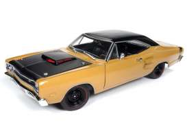 Dodge  - Super Bee  1969  - 1:18 - Auto World - AMM1173 - AMM1173 | Tom's Modelauto's