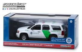 Chevrolet  - Tahoe 2010 white/green - 1:43 - GreenLight - 86163 - gl86163 | Toms Modelautos