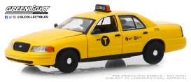 Ford  - Crown Victoria 2011 yellow - 1:43 - GreenLight - 86164 - gl86164 | Tom's Modelauto's