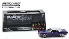 Dodge  - Challenger 1970 purple/white - 1:43 - GreenLight - 86553 - gl86553 | Tom's Modelauto's