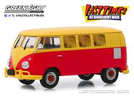Volkswagen  - Type 2 1967 red/yellow - 1:43 - GreenLight - 86554 - gl86554 | Tom's Modelauto's