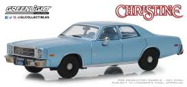 Plymouth  - Fury 1977 blue - 1:43 - GreenLight - 86559 - gl86559 | Tom's Modelauto's