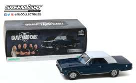 Plymouth  - Belvedere GTX 1967 blue/white - 1:18 - GreenLight - 19059 - gl19059 | Toms Modelautos