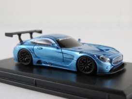 Mercedes Benz  - AMG GT3 2017 blue - 1:87 - FrontiArt - HO-18 - FHO-18 | Toms Modelautos