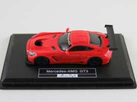 Mercedes Benz  - AMG GT3 2017 red - 1:87 - FrontiArt - HO-19 - FHO-19 | Tom's Modelauto's