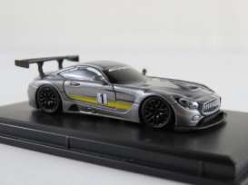 Mercedes Benz  - AMG GT3 2017 grey - 1:87 - FrontiArt - HO-21 - FHO-21 | Toms Modelautos