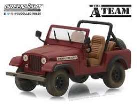 Jeep  - CJ-7 red - 1:64 - GreenLight - 44840C - gl44840C | Tom's Modelauto's