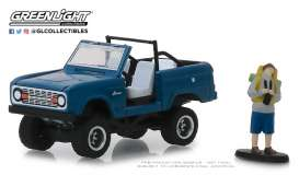 Ford  - 1967 blue - 1:64 - GreenLight - 97060B - gl97060B | Tom's Modelauto's