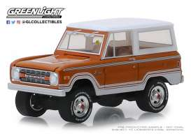 Ford  - Bronco 1977 white - 1:64 - GreenLight - 37170E - gl37170E | Tom's Modelauto's