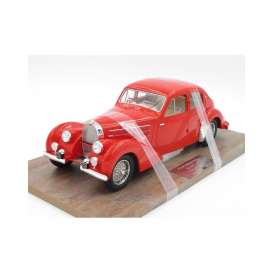 Bugatti  - 1939 red - 1:18 - Pantheon - 003 - Pantheon003 | Tom's Modelauto's