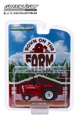 non  - Cockshutt G-1355 1973 red - 1:64 - GreenLight - 48030C - gl48030C | Tom's Modelauto's