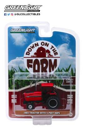 non  - 4-Post ROPS 1982 red/black - 1:64 - GreenLight - 48030E - gl48030E | Tom's Modelauto's