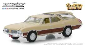 Oldsmobile  - Vista Cruiser 1970 beige/brown - 1:64 - GreenLight - 44840E - gl44840E | Tom's Modelauto's