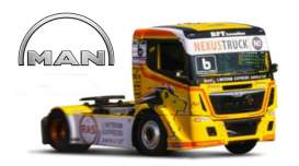 MAN  - ETR Race yellow/black - 1:43 - Bburago - 31070F - bura31070F | Tom's Modelauto's