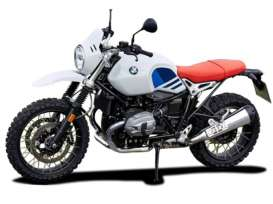 BMW  - R Nine white/blue/red - 1:18 - Bburago - 51069 - bura51069 | Toms Modelautos