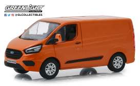 Ford  - Transit Custom V362 MCA Sport 2018 orange glow - 1:43 - GreenLight - 51276 - gl51276 | Tom's Modelauto's