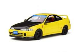 Honda  - Integra 1998 yellow/black - 1:18 - OttOmobile Miniatures - 792 - otto792 | Tom's Modelauto's