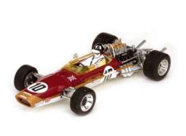 lotus | 1968 red/gold | 1:18 | quartzo | sun18214 | tom's modelauto's