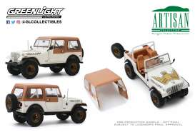 Jeep  - CJ-7 1979 white - 1:18 - GreenLight - 19065 - gl19065 | Toms Modelautos