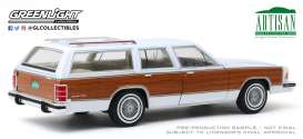 Mercury  - Grand Marquis 1989 white/wood - 1:18 - GreenLight - 19067 - gl19067 | Toms Modelautos