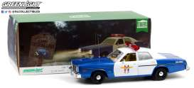 Dodge  - Monaco Police 1978 blue/white - 1:18 - GreenLight - 19068 - gl19068 | Tom's Modelauto's