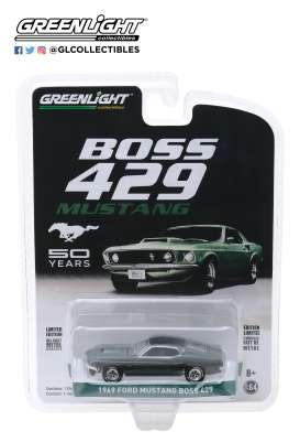 Ford  - Mustang Boss 1969  - 1:64 - GreenLight - 27980B - gl27980B | Tom's Modelauto's