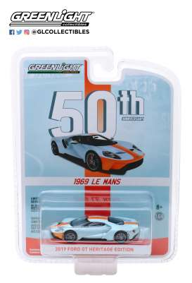 Ford  - GT 2019  - 1:64 - GreenLight - 27980F - gl27980F | Tom's Modelauto's