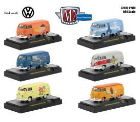 Volkswagen  - 1960 various - 1:64 - M2 Machines - 32500VW06 - M2-32500VW06 | Tom's Modelauto's