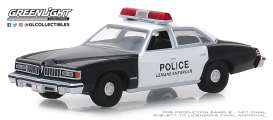 Pontiac  - Le Mans 1977 black/white - 1:64 - GreenLight - 42880B - gl42880B | Tom's Modelauto's