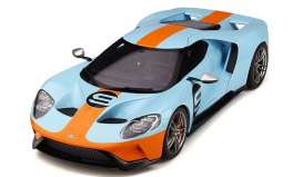 Ford  - GT blue/orange - 1:18 - GT Spirit - GT783 - GT783 | Tom's Modelauto's