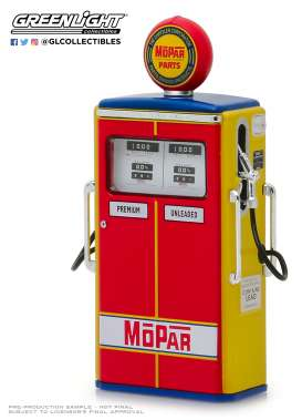 Accessoires diorama - red/yellow/blue - 1:18 - GreenLight - 14060 - gl14060C | Tom's Modelauto's