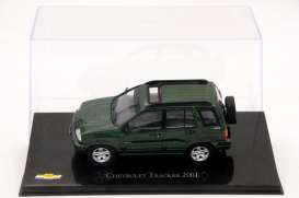 Chevrolet  - Tracker 2001 green - 1:43 - Magazine Models - CheTracker - magCheTracker | Tom's Modelauto's