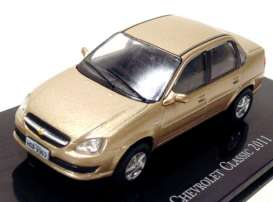 Chevrolet  - Classic 2011 gold-yellow - 1:43 - Magazine Models - CheClassic - magCheClassic | Tom's Modelauto's