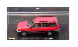 Chevrolet  - Ipanema SL/E 1992 red - 1:43 - Magazine Models - magIpanema - magCheIpanema | Tom's Modelauto's