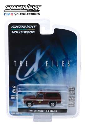 Chevrolet  - K-5 Blazer 1981 brown - 1:64 - GreenLight - 44850D - gl44850D | Tom's Modelauto's