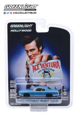Chevrolet  - Monte Carlo 1972 blue - 1:64 - GreenLight - 44850F - gl44850F | Tom's Modelauto's