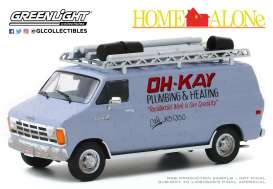 Dodge  - Ram Van 1986 silver - 1:43 - GreenLight - 86560 - gl86560 | Toms Modelautos